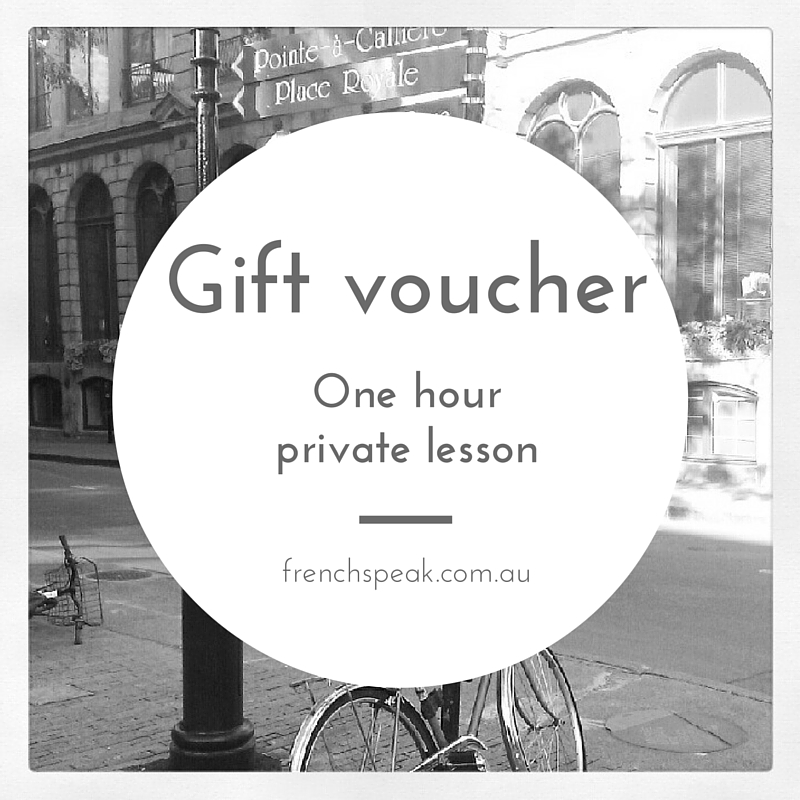 Gift Voucher - 1 Hour Private Lesson