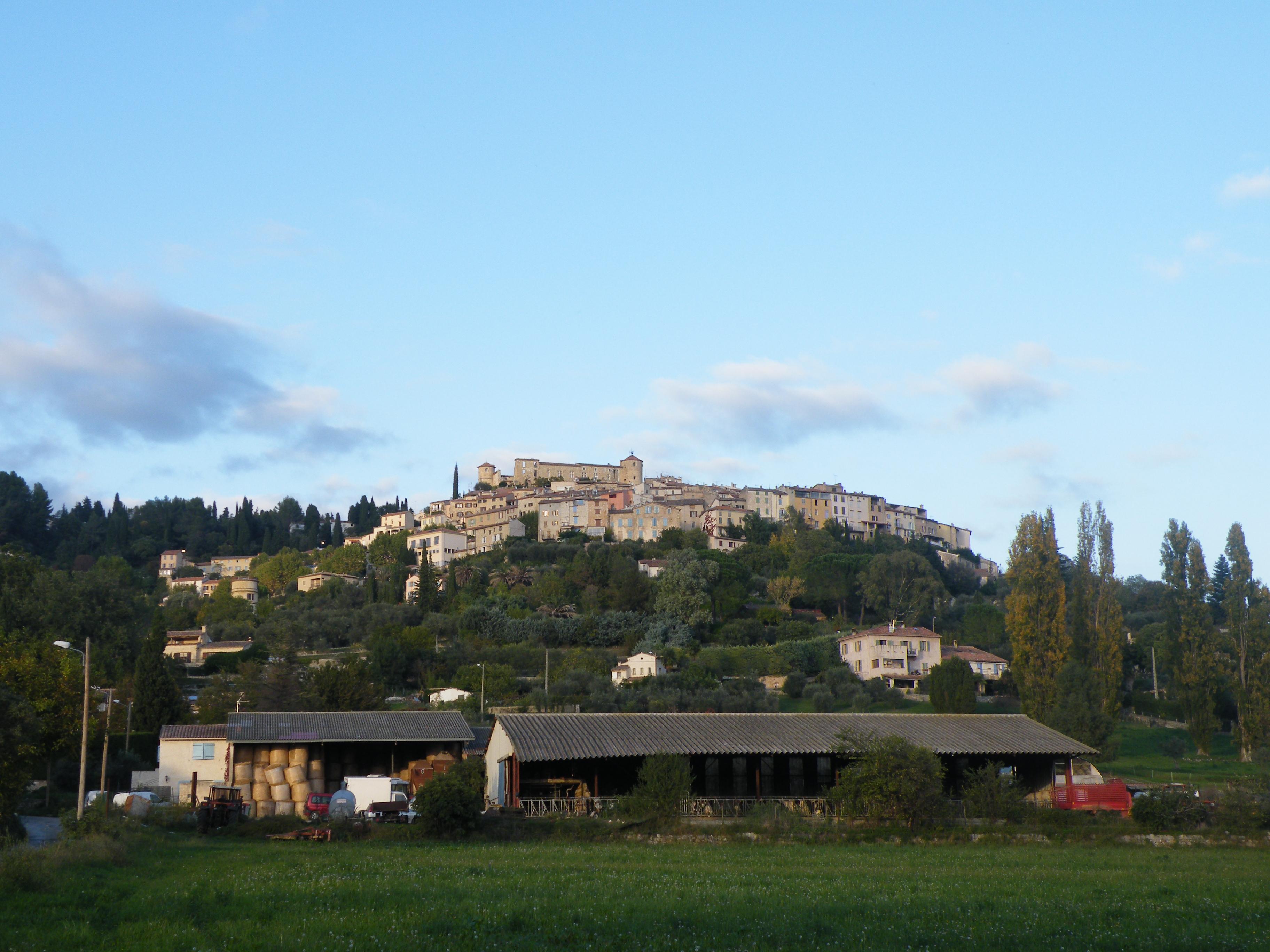Hilltop village in Provence