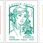 New French stamp Hollande