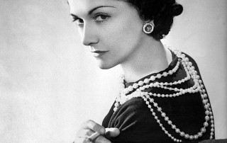 Portrait of Coco Chanel