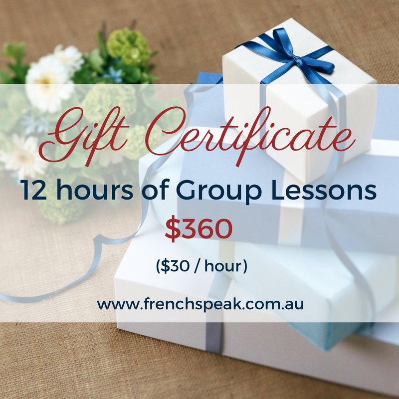 Gift Voucher - 12 Hours Group Lessons (Full course)