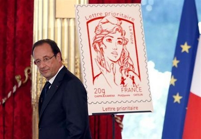How can a French stamp cause so much controversy?
