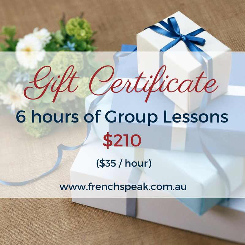 Gift Voucher - 6 Hours Group Lessons (Half course)