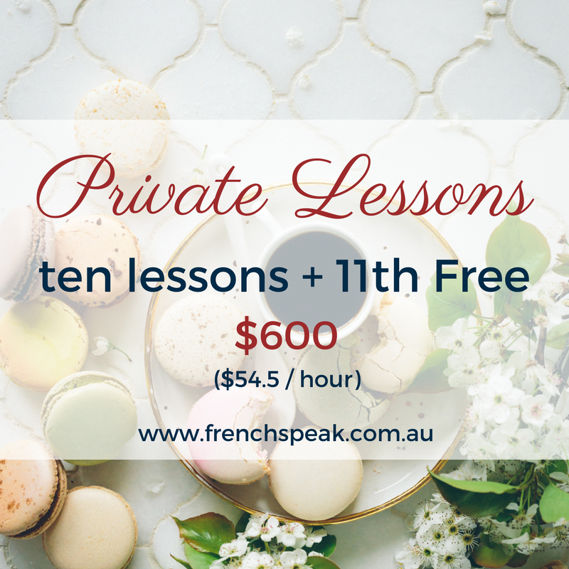 Private Lessons 10 Lessons + 11th Free