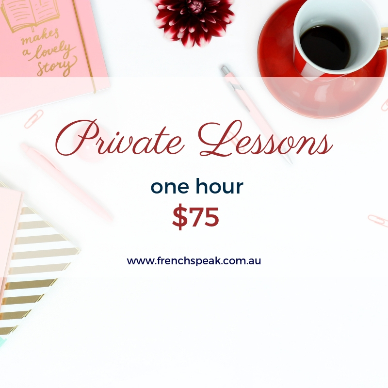 Private Lessons - One x 1 hour lesson