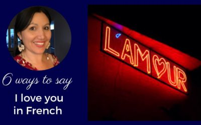 How to say I love you in French [Video]