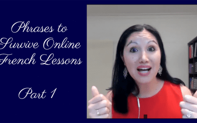 Phrases to Survive Online French Lessons : Part 1 Online Classes