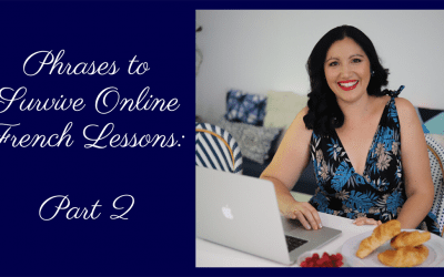 Ready-Made phrases to Survive Online French Lessons During the Skype or Zoom Class: Part 2