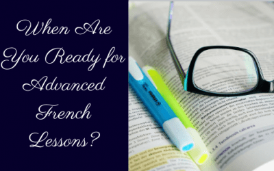 When are you ready for advanced French lessons?