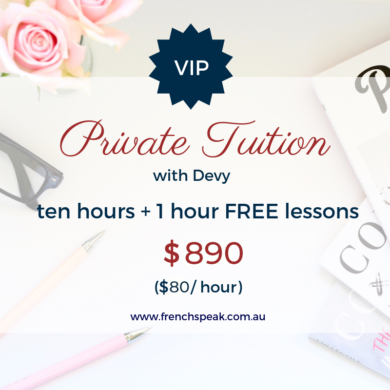 VIP Private Lessons - Block of 11 x 1 hour lessons