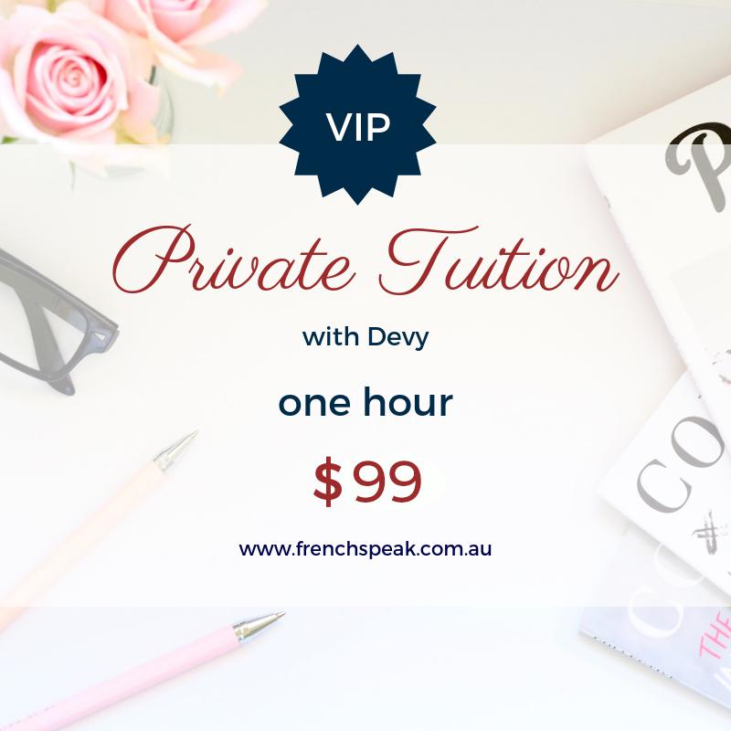 VIP Private Lessons - One x 1 hour lesson