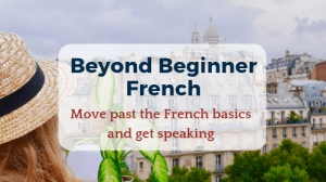 Advanced French Course online
