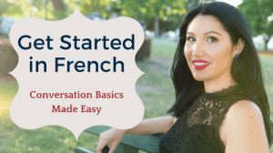 get started in french online course for beginners